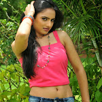 Ritu Kaur in Beautiful pink Tank top and shorts Stunning Beauty