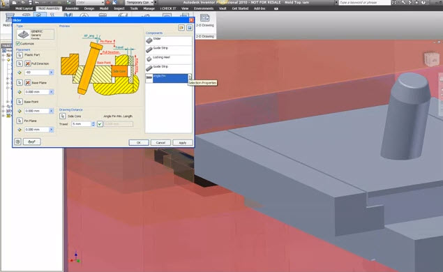 How to Mold Structural Assembly training in Autodesk
