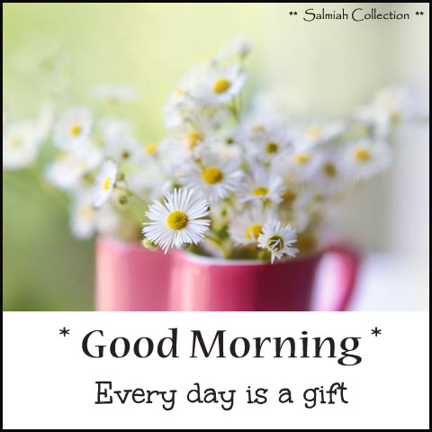 Good Morning Every day is a gift