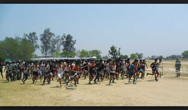 Biswanath   Army Rally, Indian Army Rally, Open Bharti Rally