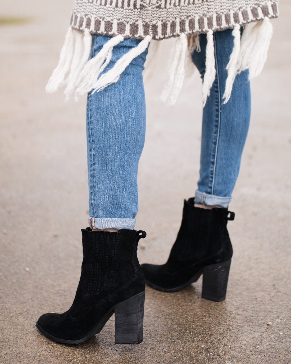 "Black suede ankle boots | dolce vita ""conway"""