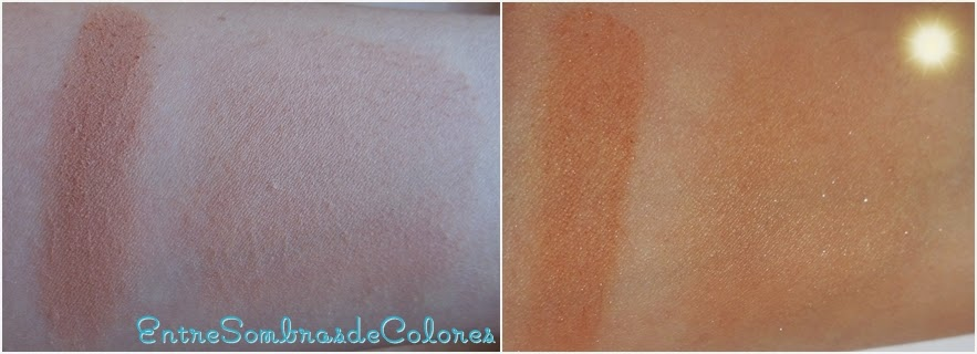 swatches bronceador natural bronzer Rimmel London