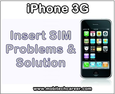 mobile, cell phone, iPhone smartphone, how to, fix, solve, repair, Apple iPhone 3G, sim, not working, insert sim, faults, problems, sim ic, sim track, jumper ways, solution, kaise kare, guide, tips in hindi.