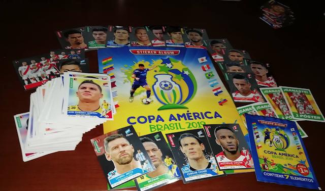 Figurine Album Navarrete Copa America 2019