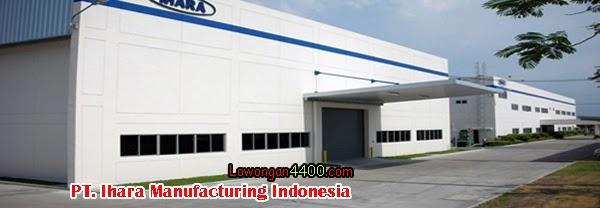 Lowongan Kerja Operator PT. Ihara Manufacturing Indonesia KIIC Karawang