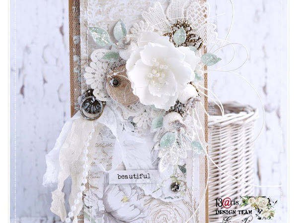 Shabby chic card & Video