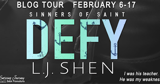 Blog Tour Review: Defy (Sinners of Saint #0.5) by L. J. Shen