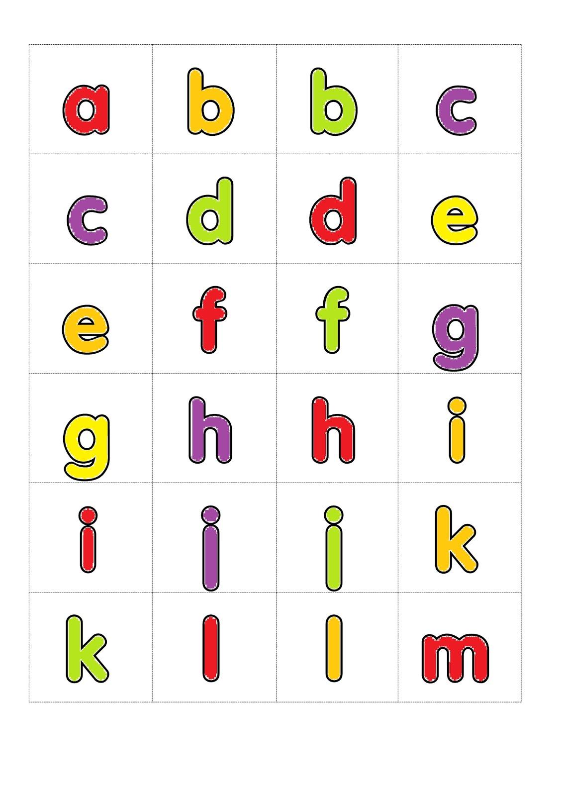 I Teacher Alphabet Games Loop Cards Colour