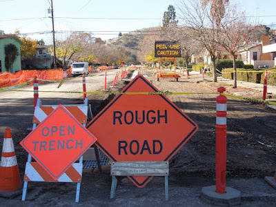12th and Vine Streets, 12-12-2015, Road Construction, © B. Radisavljevic