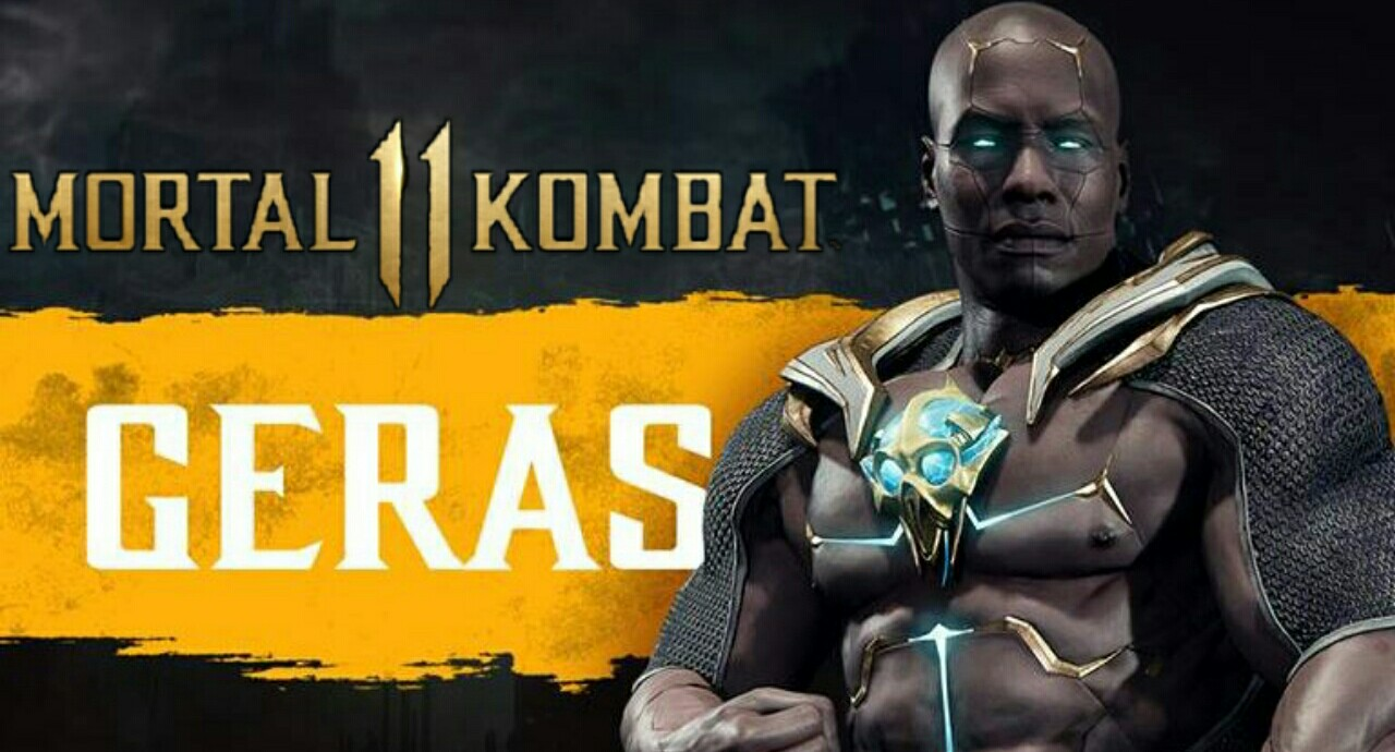 Geras one of the most powerful character in MK11 Revealed new characters