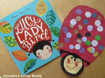Lucy Ladybird book review and craft