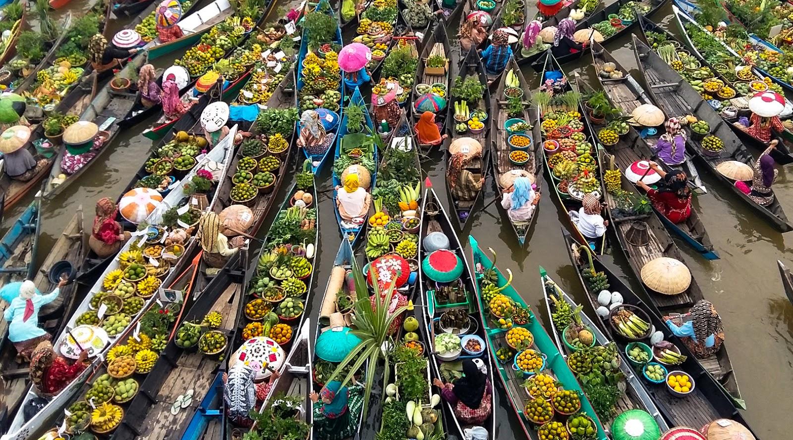 pasar aneh di Banjaramasin