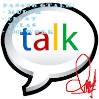 Cara Memasang Google Talk Di Blog