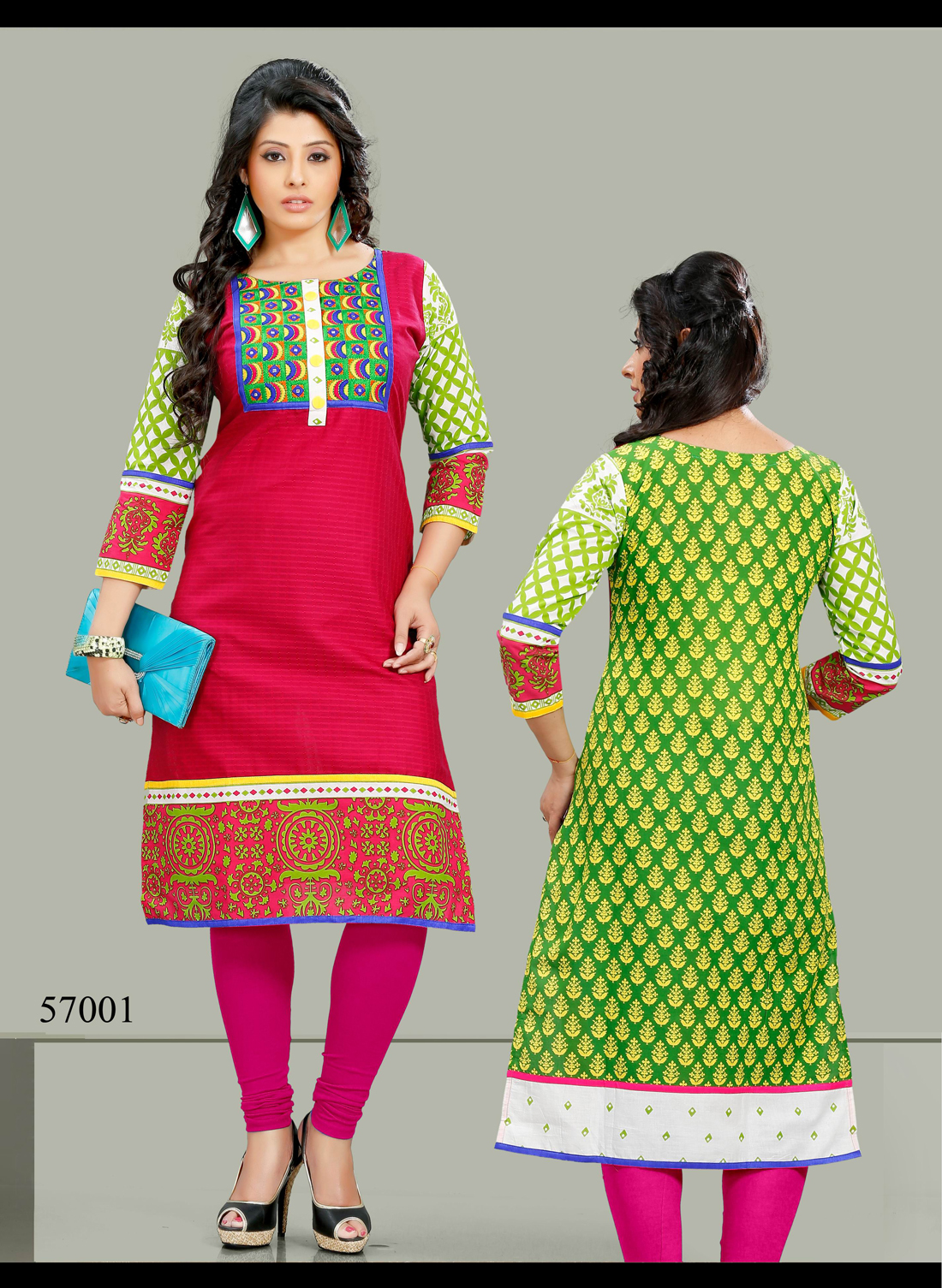 Naira 57 – Cambric Cotton Printed Kurti