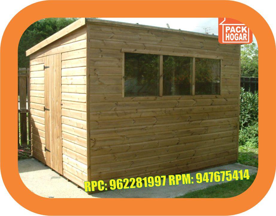 Cuartos modulos casetas de madera barata for Casetas para exterior baratas