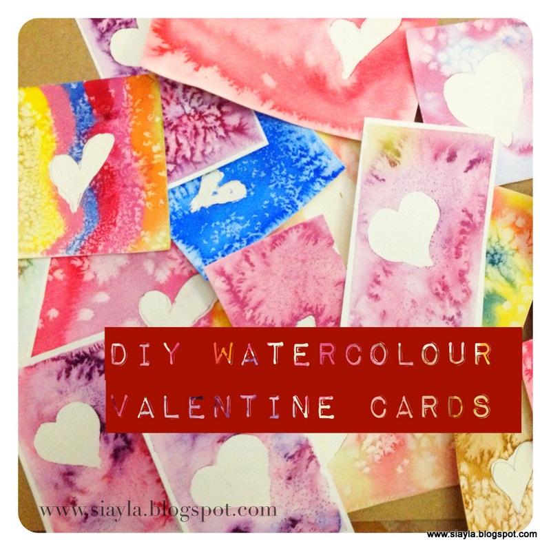 Imagination Station Diy Watercolour Valentines