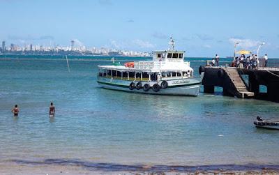 Mar Grande opera com oito embarcações e tem maior movimento no terminal de Vera Cruz