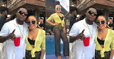 Ifu-Ennada And Rapper, CDQ End Their Fight As She Wishes Him a Happy Birthday.