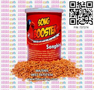 Song Booster Songbird berkhasiat mengacorkan burung, memulihkan burung macet berkicau, dan juga bermanfaat sebagai anti stres