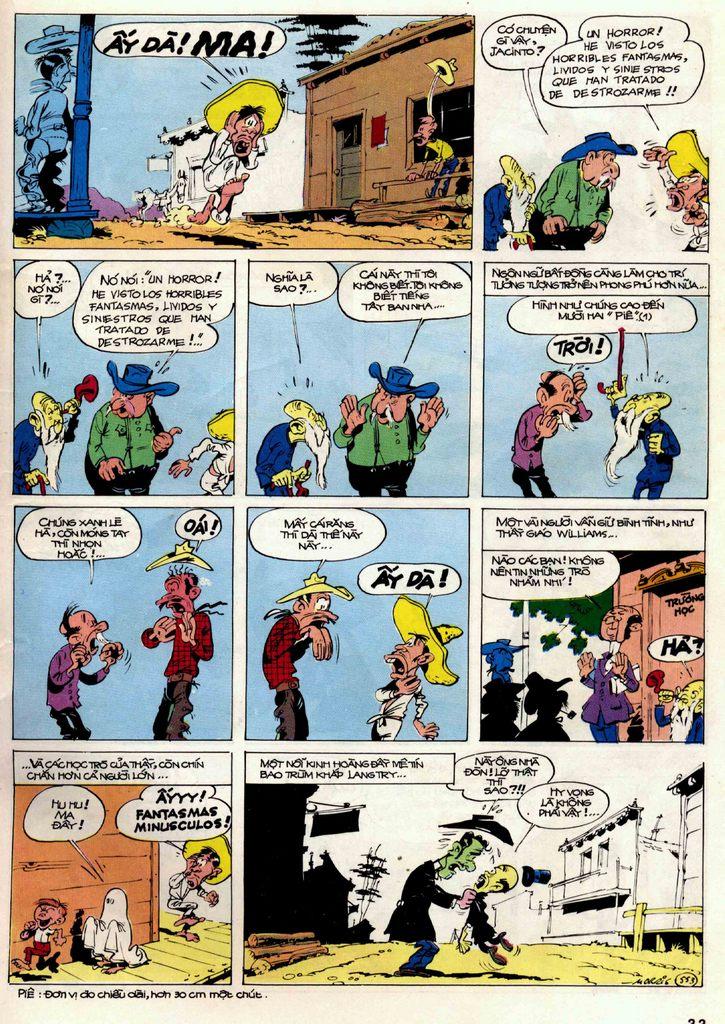 Lucky Luke tập 21 - sợi dây biết hát trang 32