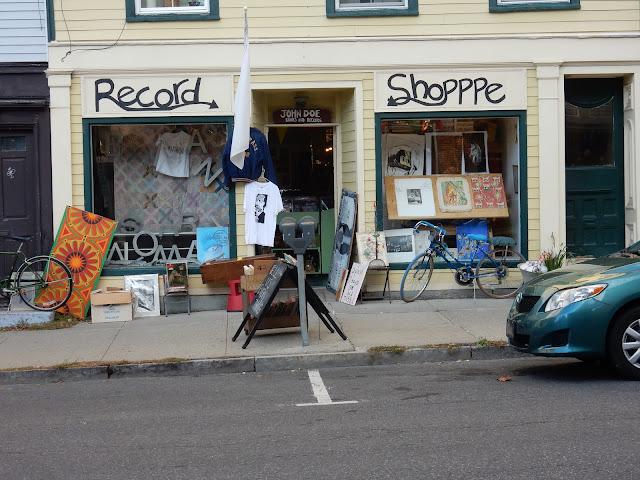 John Doe Record and Books - Hudson New York - store front