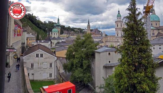 Vistas desde Stiegl, Salzburgo