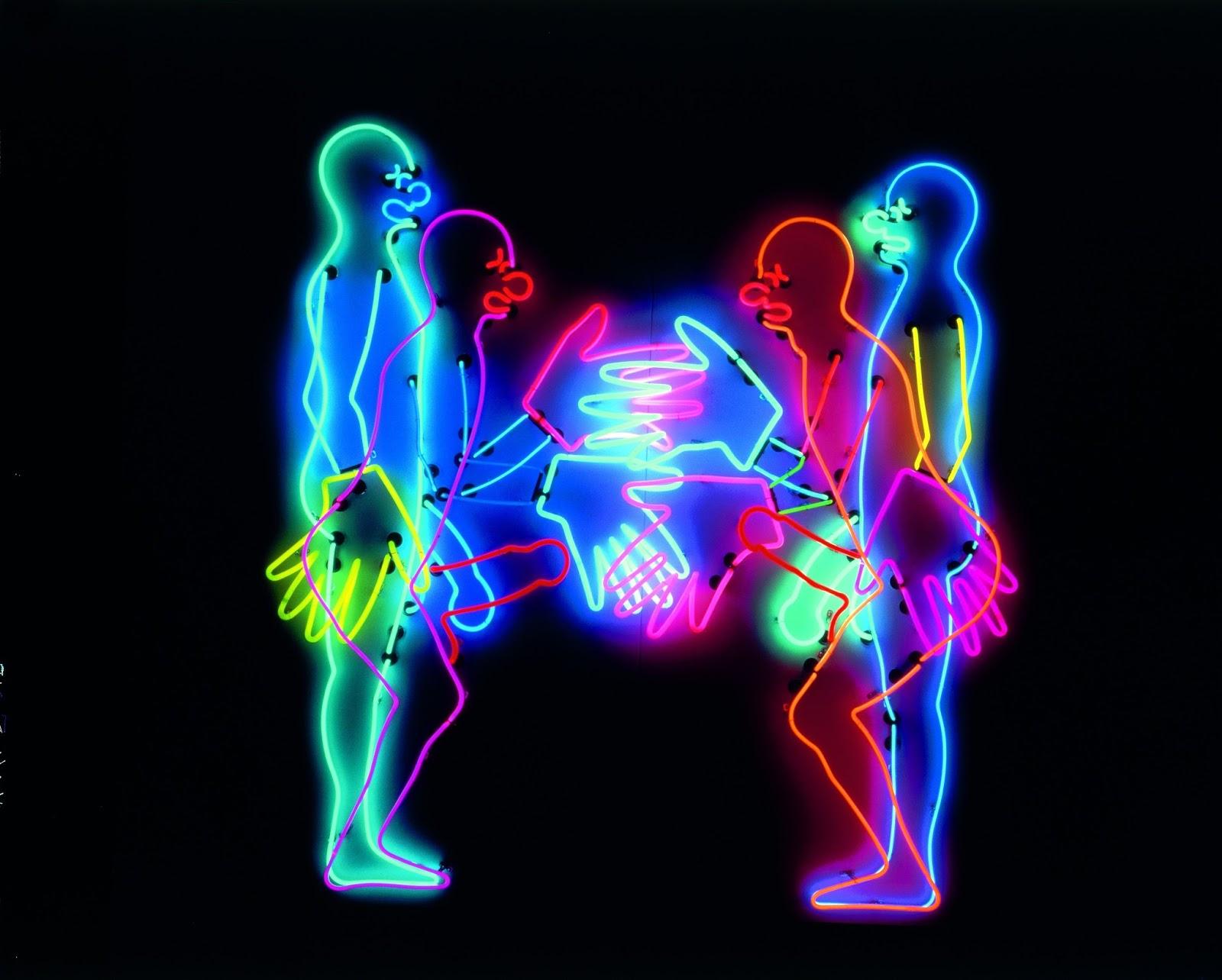 News letter les clowns les artistes font leur cirque for Neon artiste contemporain