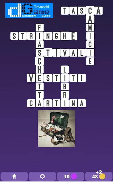 Soluzioni One Clue Crossword livello 2 schema 12 (Cruciverba illustrato)  | Parole e foto