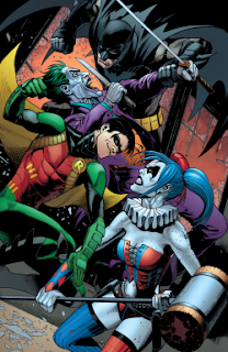 Batman and Robin Vs Joker and Harley