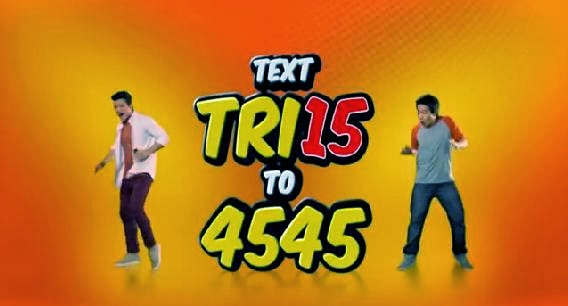 Talk N Text TRI15
