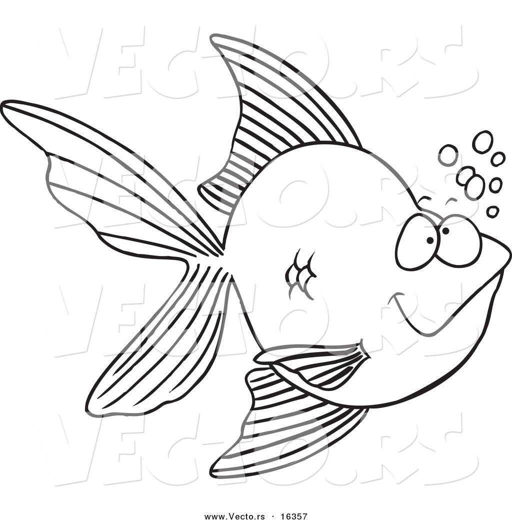 Download Gambar Sketsa Ikan Koi