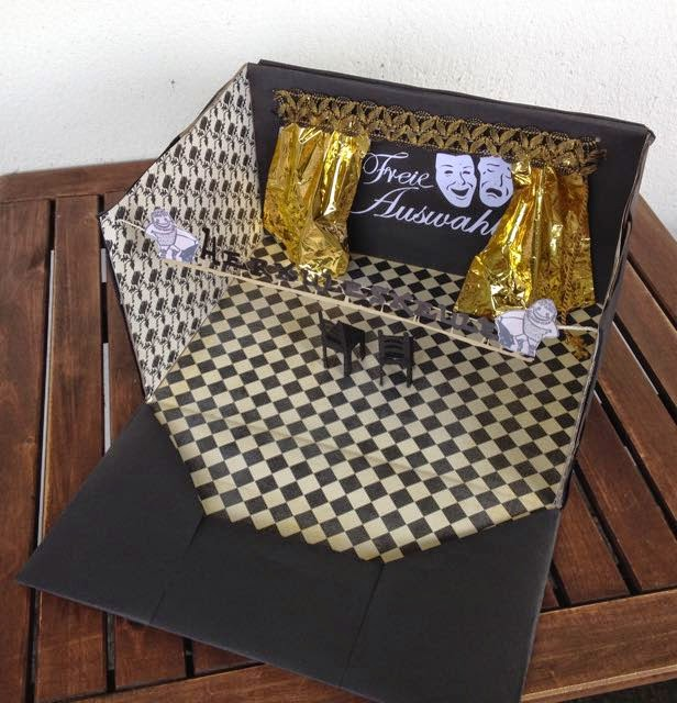 Susi 39 s basteltipps theater gutschein kreativ verpackt - Gutschein originell verpacken tipps oder ideen ...