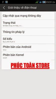 Tiếng Việt Blu life play 2 alt