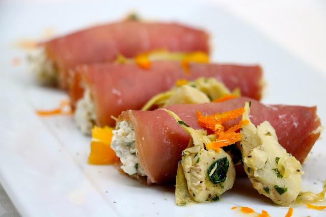 Involtini di tonno rosso - CastellodeiSolaro
