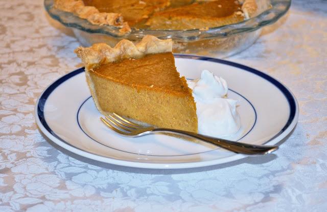 My Traditional Pumpkin Pie