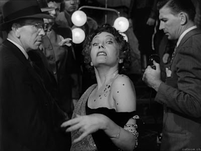 Gloria Swanson as Norma Desmond in Sunset Blvd., Directed by Billy Wilder, Film Noir