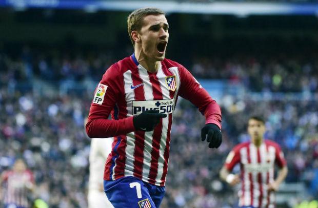 Griezmann permet à l'Atlético Madrid de s'imposer face au Real à Bernabeu