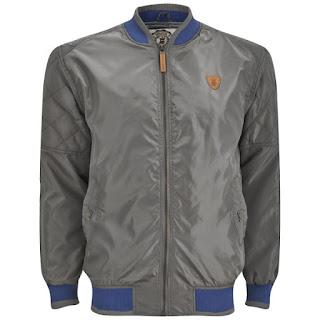 Soul Star Men's Jefferz Jacket - Gris - 17,55€ - También disponible en Gris Claro