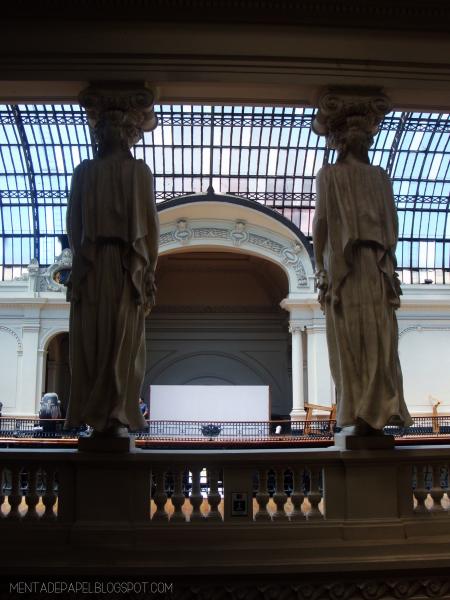 El Museo Nacional de Bellas Artes por dentro