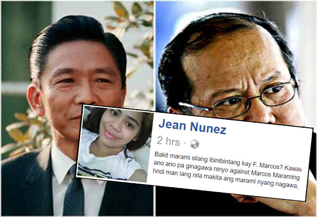 Jean Nunez: People hate Marcos despite accomplishments, but stay silent on Aquino's poor performance