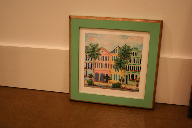 C. Brooke Ring Charleston Print in Signed & Numbered Frames | The Lowcountry Lady