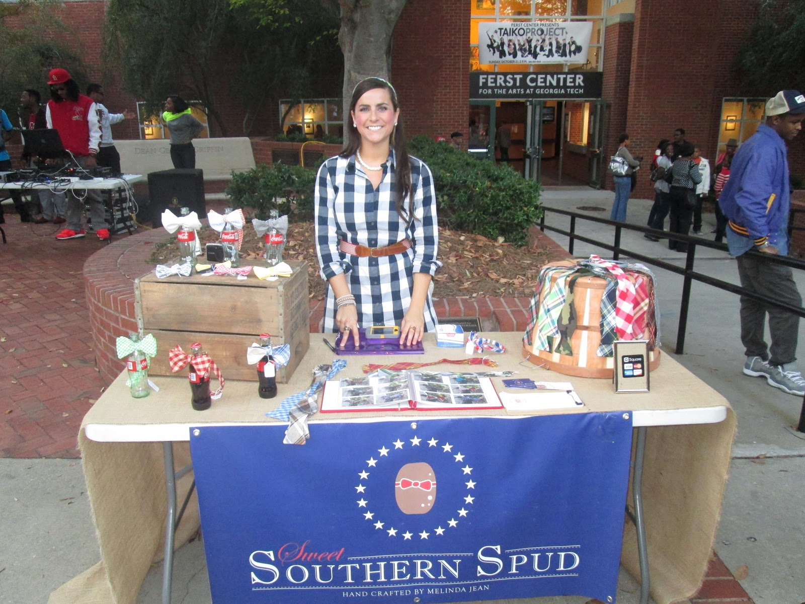 ecec9470635 Real College Student of Atlanta  Sweet Southern Spud  bows