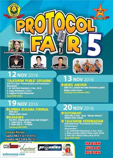 Protocol Fair 2016: Gets Your 3P's