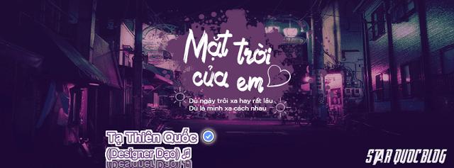 Ảnh Bìa Mặt Trời Của Em - Phương Ly ft.Justatee | Ảnh Bìa Facebook Cực Đẹp