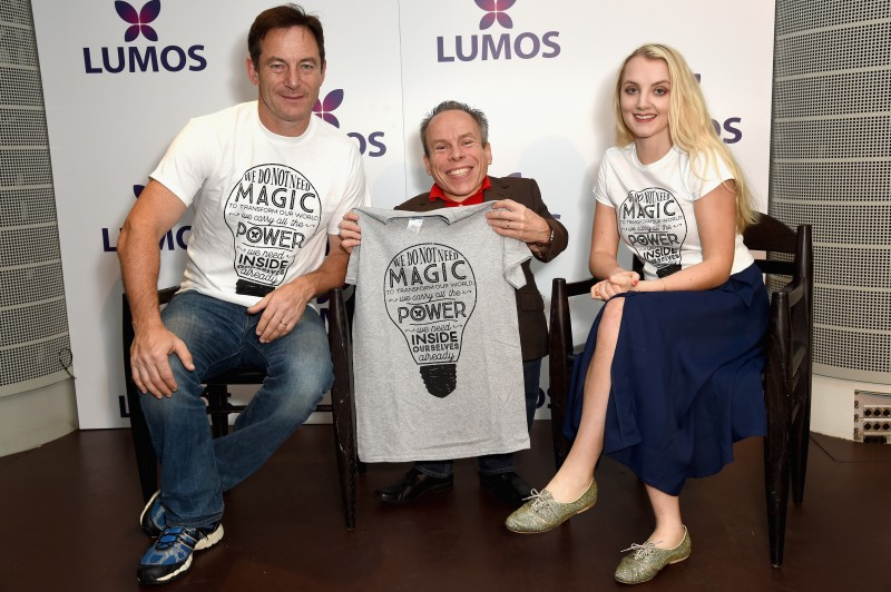 Harry Potter stars at Lumos charity gala