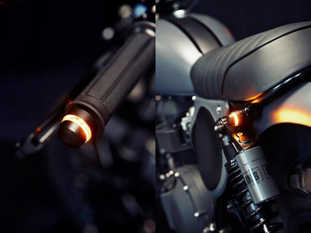 Triumph Bonneville T100 độ Scrambler