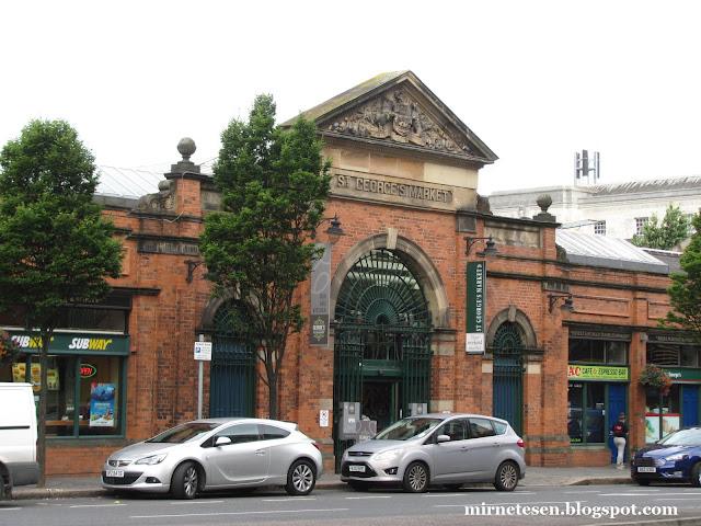 Рынок Сент-Джордж, Белфаст