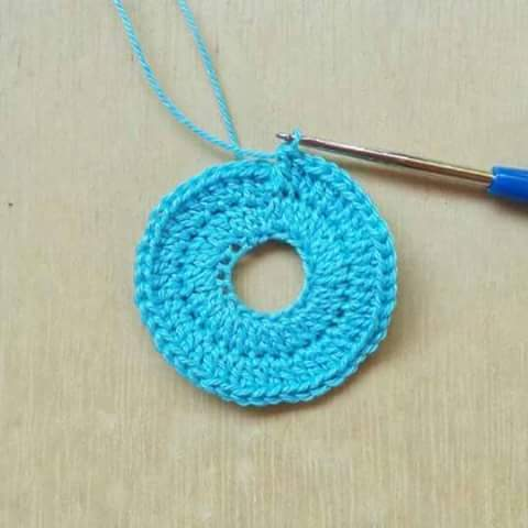 Recordatorio Baby Shower a Crochet