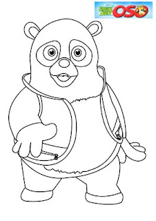 Special agent oso coloring pages learn to coloring for Oso coloring pages