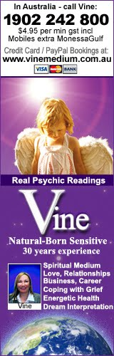 Psychic Readings Blog - Vine, Melbourne, Australian Natural